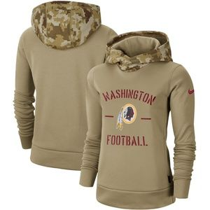 Women's Washington Redskins Pullover Hoodie